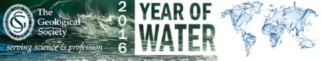 2016: Year of Water - The Geological Society of London